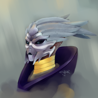 Female Turian by pic-char