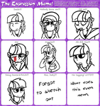 Twilight Sparkle Expression Meme by The-great-grey
