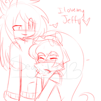 I love my Jeffy by Kawaii-BEN