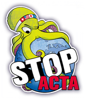 Stop ACTA! by Merliniara