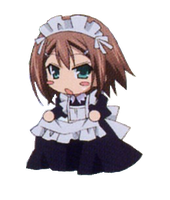 Chibi Maid C by XxDetroit68xX