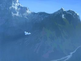 Flight of White Bird by RHADS