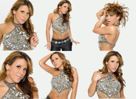 Mickie James - Alexis Laree by Belthazor1
