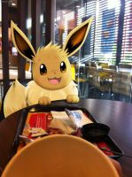 Breakfast with Eevee by Winick-Lim