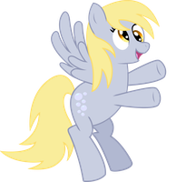 Derpy Hooves-Ditzy Doo Smiling by sorata-daidouji