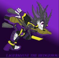 LagerMayne The Hedgehog by RaptorTheHawk