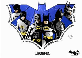 Batman 75th anniversary fan art contest by AhmedRaafatArt