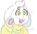 Lil Asriel by dongoverlord