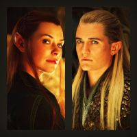 Tauriel and Legolas by Bleach-Fairy