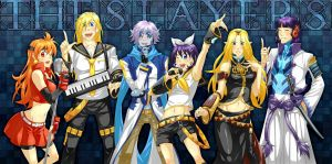 slayers - vocaloid version 2 by piku-chan