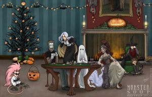 A Monster Soup Halloween by HaloGhost
