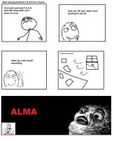 F.E.A.R Rage Comic by Clubk