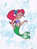 Disney Memories: Ariel by Stephaven