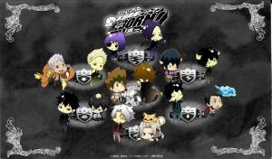 chibi vongola family by Viadera