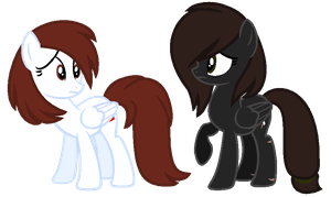 Mane Swap-Juliette and Softfang by xx-Chanour
