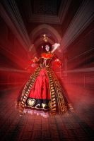Alice Madness Returns - Queen of Hearts by NattoKan