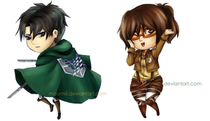 Snk Cellphone Charms by kittyalyst