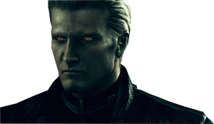 Albert Wesker Render by VIOLET-2010