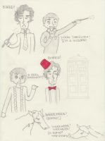 Sherlock in AU-Land by JustAMadGirlInABox