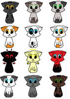 FREE ADOPTS CLOSED by Faithful-Cat