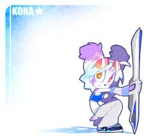 :: Sonic Riders KONA :: by briteddy