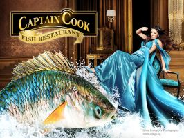 Captain Cook adverts. by SOOO