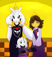 Royal Family (ROYALTALE) by SketchyGarden