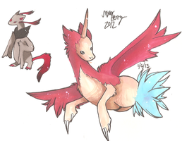 Pokemo Custom Hybrids by PinkMelodii