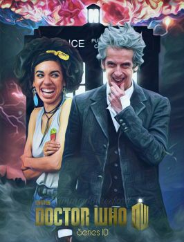 The Doctor and Bill series 10 by SimmonBeresford