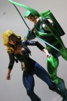 Green Arrow and Black Canary by SavageSerenityStudio