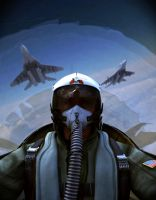 Fighter pilot by cocoonH