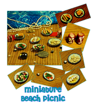 Mini Beachside Picnic by querulousArtisan