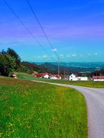 Country road, powerlines, and lots of scenery by patrickjobst