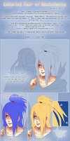 SAI Hair coloring Tutorial by MusicBento