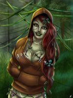 Poison Ivy Hoodie by x138x