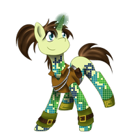Offer to Adopt - Pixel Pony #3 [Closed] by Bluepanda-adopts