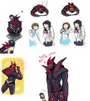 Senketsu Colab by StickyBoxers