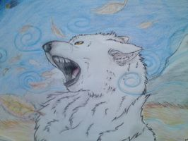 The legend of the white wolf by Crazywolfs