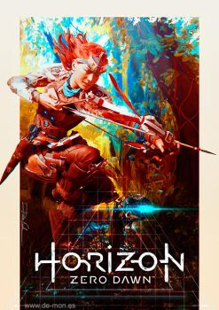 Horizon: Zero Dawn fan art #HorizonZeroDawn by De-monVarela