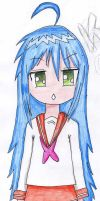 Konata-chan from Lucky star by dinamata