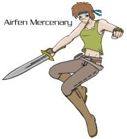 Airfen Mercenary by CarrionTrooper