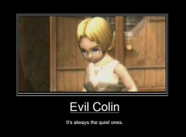 Evil Colin by likesallusions