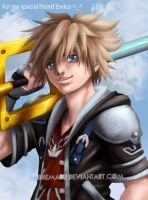 Sora Kingdom Hearts by Oremaru
