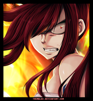 Fairy tail 316 - Erza rage by Tremblax