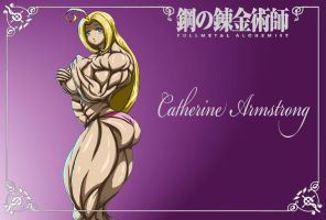SUPER CATHERINE ARMSTRONG 2 by B9TRIBECA