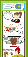 Skyward Sword Shorts 1 by SpriteGirl