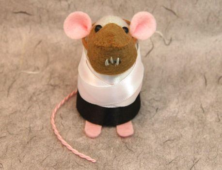 Hannibal Lecter Mouse by The-House-of-Mouse