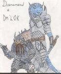 Dianamond and Dm'Lok by Dianamond
