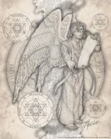 Archangel Metatron by jayfrench