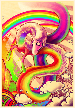 Lady Rainicorn by Dark-Sheyn